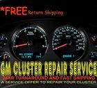 2010 11 Chevy Silverado Speedometer Instrument Gauge Cluster LCD Repair Service