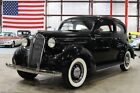 1937 Plymouth P4 -- 1937 Plymouth P4  52759 Miles Black Coupe 6 Cylinder Manual