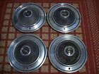"""1973 Ford T-Bird   Set of four OEM 15"""" hubcaps"""