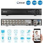 16CH Full 1080N/720P H.264 DVR NVR AHD HVR fr CCTV Home Surveillance Camera Y4W8
