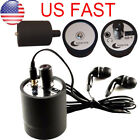 Ear listen Through Wall Device SPY Bug Eavesdropping Wall Microphone Voice【US】
