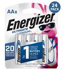 "AA Energizer Ultimate Lithium L91 1.5V 24 Batteries ""In Original Box"""