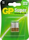 2 Packs of 2 GP Alkaline Battery Lr1 - N, 1.5V (4 Batteries Total)