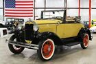 1931 Ford Model A -- 1931 Ford Model A  0 Yellow Convertible 4 Cylinder 3 Speed Manual
