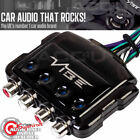 Vibe Car 4 Channel Speaker Wire To 4 Low Level RCA Output Line Convertor LOC4-V5