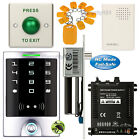 DIY Access Control Entry Key Ring Kit + Electric Bolt Door Lock NC Fail Safe