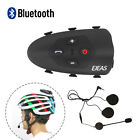 V9 Bluetooth Interphone Motorcycle Helmet Intercom 1.2KM VOX Voice Peompt IP65