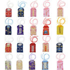 Japan Omamori Embroidery Good Fortune Love Safety Victory Luck Pendant Accessory