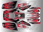 YAMAHA WARRIOR full graphics kit DECALS STICKERS..THICK AND HIGH GLOSS