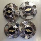 Chevy Truck Chrome Hubcaps 46249 Set of 4
