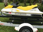 2006 Seadoo gti 4 tec jet ski with dual trailer. Only 32 hrs.