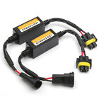 2x H11 LED Headlight Canbus Anti Flicker Error Free Resistor Canceller Decoder