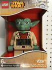 Brand New! LEGO Star Wars Yoda Mini-Figure Light Up Alarm Clock 7 Inches Tall
