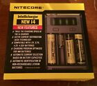 NEW NITECORE i4 Intellicharger Charger Compatible 18650 3000mah 35A batteries