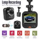 """Mini 2.3"""" 1080P HD Car Auto DVR Video Recorder Camera Motion Detection Dash Cam"""