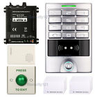 RFID ID Card Access Control Reader Office Entry System Set Waterproof Keypad