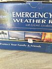 EMERGENCY alert weather radio nib predects snowstorms