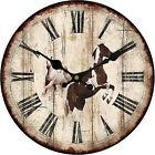 Horse Retro Steed Wall Clock Home Living Room Bar Decor
