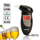Digital LCD Backlit Display Breathalyzer Audible Alert Breath Alcohol Tester Box