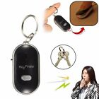 Portable Mini LED Key Finder Locator Find Lost Keys Chain Keychain Whistle
