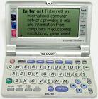 RARE Sharp PW-E550 Electronic Dictionary Oxford - Thesaurus - Garner's Usage
