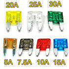 15 AMP 50pc ATM MINI FUSES BLADES FUSE 15A CAR TRUCK BOAT UP TO 32V MARINE ETC