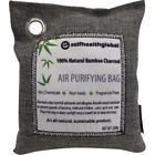 Activated Bamboo Charcoal Air Purifier Deodorizer 200 Gram Bag - Gray