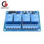 5PCS Four 4 Channel Relay Module DC 5V With Optocoupler Arduino PIC ARM AVR DSP