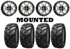 Kit 4 Interco Reptile Tires 27x9-14/27x11-14 on Frontline 556 Machined IRS