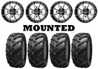 Kit 4 Interco Reptile Tires 27x9-14/27x11-14 on Frontline 556 Machined HP1K