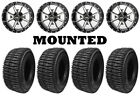 Kit 4 Interco LIEF Tires 25.5x8.5-14/25.5x9.5-14 on Frontline 556 Machined TER