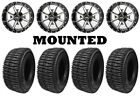 Kit 4 Interco LIEF Tires 25.5x8.5-14/25.5x9.5-14 on Frontline 556 Machined POL