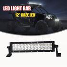 "LED Light Bar Universal 12"" Fog Driving Lamp Can-Am Maverick Commander Kawasaki"