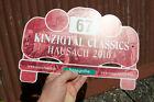 AUTOMOBILE SIGN / PLAQUE # KINZIGTAL CLASSICS HAUSACH 2010 NO. 67 HANSGROHE