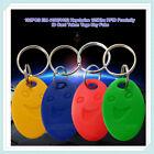 100pcs EM 4100/4102 Keychains 125Khz RFID Proximity ID Card /Tags /Keyfobs