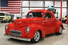 1941 Willys Coupe -- 1941 Willys Coupe  3901 Miles Red Coupe 383 V8 Automatic