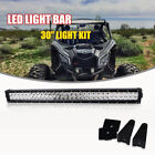 """30"""" Inch LED Light Bar Can-Am Maverick Commander Kawasaki John Deere Arctic Cat"""