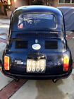 1971 Fiat 500L black 500L  (Luxury edition)