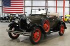 1929 Ford Model A Roadster 1929 Ford Model A Roadster 1665 Miles Rose Beige Roadster 4 Cylinder 3 Speed Man