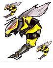 SKI-DOO TECHNO BEE DECAL SET 415129181