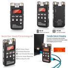 Voice Recorder 8GB Pro PCM 1536K Clear Stereo Audio by EVISTR, L53 Voice Activat