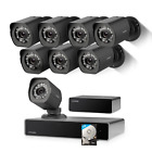 Zmodo Full HD 1080p Simplified PoE Security Camera System w/Repeater, 8 x 2.0 Me