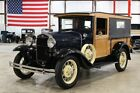 Model A Huckster 1931 Ford Model A Huckster 26376 Miles Washington Blue Coupe 4 Cylinder Manual