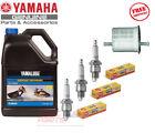 YAMAHA 1999-2004 SUV1200 2W Oil Fuel Filter NGK BR8HS Maintenance Tune Up Kit