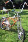 1968 Schwinn Orange Krate Sting-Ray bicycle, vintage muscle bike, Stingray