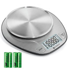 Etekcity Digital Food Weighing Scale Kitchen Baking LCD 11lb/5kg Stainless Steel