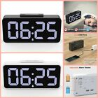 Alarm Clock With Battery Backup Led Digital Alarm Clock Large Display Portable