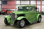 Model A -- 1930 Ford Model A Pickup  1526 Miles Sour Apple Green Metallic Pickup Truck 350