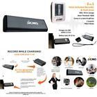Voice Activated Recorder Digital Audio Recording Device (Gunmetal) by JiGMO - 8G