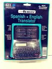 New Berlitz Seiko Instruments TR2201 Spanish/English Translator
